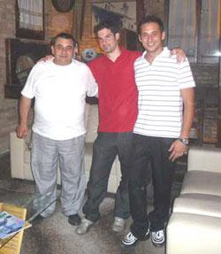 Foto di gruppo al ristorante Don Camillo locanda Peppone