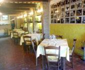 Tavoli del ristorante Don Camillo