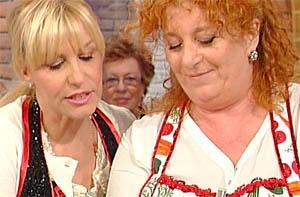 Luisanna Messeri con Antonella Clerici