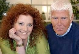 Luisanna Messeri con Beppe Bigazzi
