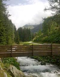 Passeggiata sul lungo fiume di Madesimo