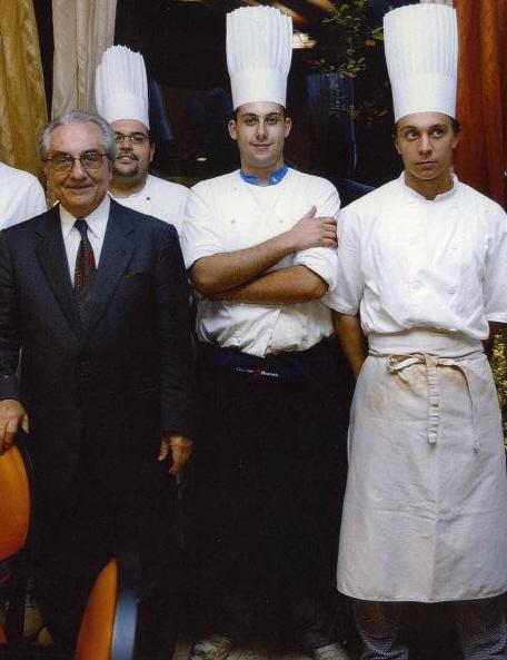 Andrea Mainardi e Gualtiero Marchesi