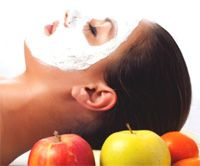 Maschera viso purificante con gli scarti dei centrifugati