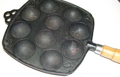 Piastra per la cottura delle uova di Marchesi