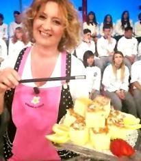 Natalia Cattelani a La prova del cuoco