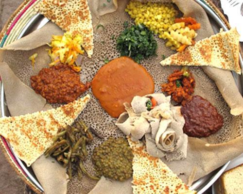 Injera, piatto del Natale in Etiopia