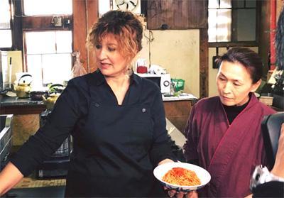 Natalia Cattelani in Giappone