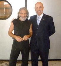 Mauro Corona e Massimo Gelati