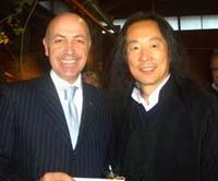 Massimo Gelati con Yang Lian