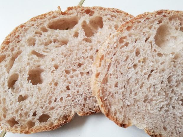 Pane rustico con kefir