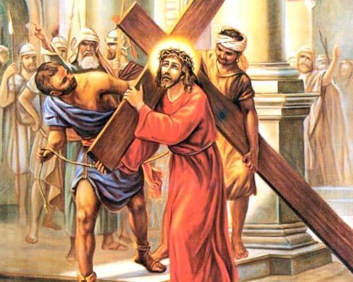 Pasqua. Via Crucis