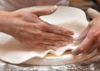 Lavorazione della pasta di zucchero