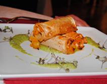 Piatto del ristorante La piazzetta