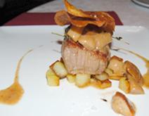 Carne al ristorante La piazzetta