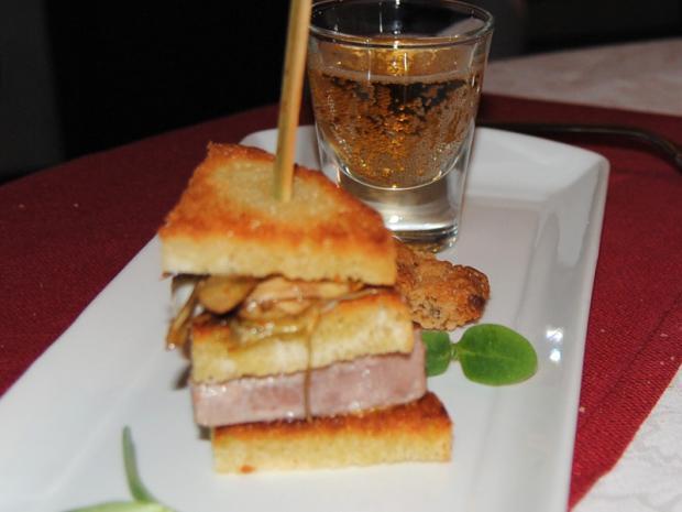 Piazzetta: club sandwich