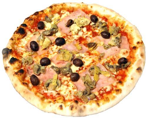 Pizza quattro stagioni o capricciosa