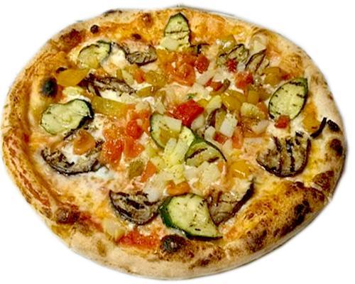 Pizza vegetariana o ortolana