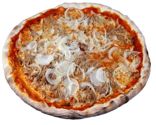 Pizza tonno e cipolle