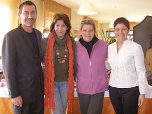 Germano Nasi, Nicoletta e Federica Spelta (Alimentipedia), Elena Nasi