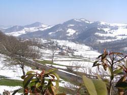 Panorama dal ristorante Pommeri