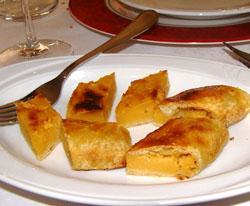Turta ad patati del ristorante Pommeri