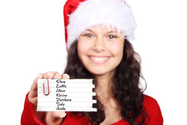 Lista della spesa per Natale