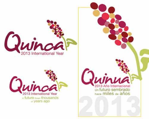 2013. Anno della quinoa. Loghi