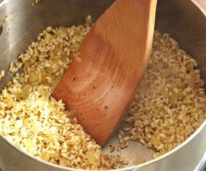 Tostatura del riso