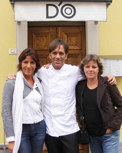Nicoletta Spelta, Davide Oldani, Federica Spelta