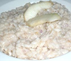Risotto pere e gorgonzola del Ristorante Tobago