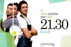 Roberto Valbuzzi in Una cucina per due