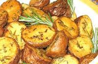 Patate al forno con rosmarino