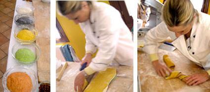 Preparazione pane arcobaleno di Sara Papa