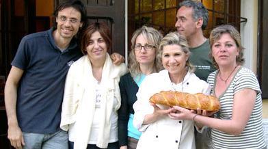 Foto di gruppo con alcuni dei partecipanti al corso