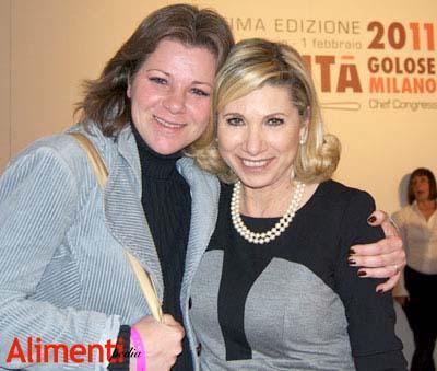 Federica Spelta (Alimentipedia) e Sara Papa