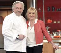Davide Scabin con Antonella Clerici