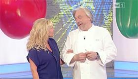 Scabin e Antonella Clerici
