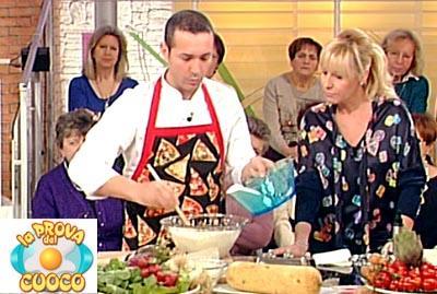 Gino Sorbillo a La prova del cuoco con A. Clerici