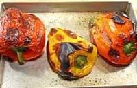 Spellare i peperoni in forno