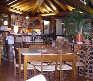 Sala del ristorante Tana degli orsi