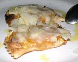 Tortelli di patate alla piastra