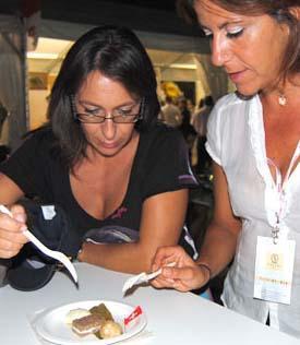 Nicoletta e Daniela giocano con i sapori del Joia