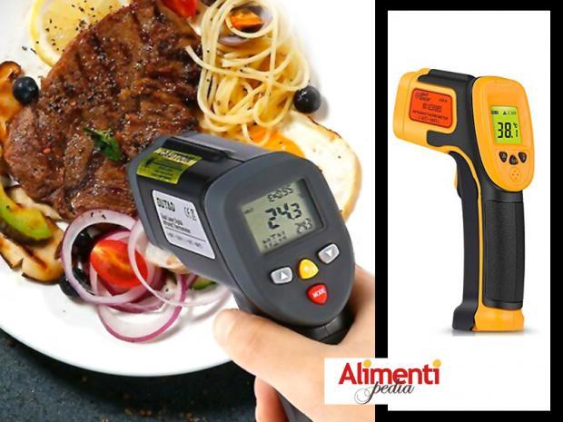 Termometro digitale a infrarossi