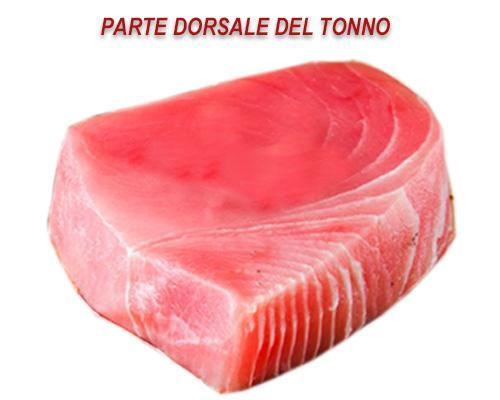 Parte dorsale del tonno