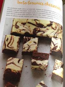 Torta brownies cheesecake di Natalia Cattelani