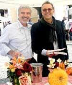 Claudio Menconi con Massimo Bottura