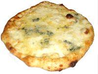 Pizza bianca ai formaggi