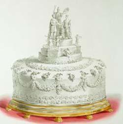 Torta del matrimonio della regina Vittoria
