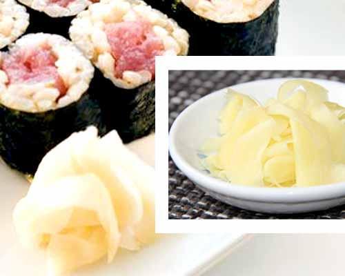 Gari. Zenzero marinato giapponese