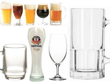 Bicchieri e boccali da birra